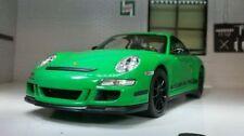 Voitures, camions et fourgons miniatures verts WELLY pour Porsche