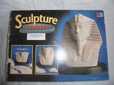 KING TUT Tutankhamon MB Milton Bradley 3D SCULPTURE PUZZLE 1995 Unbuilt 140 pcs