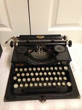 Vintage Royal Portable Typewriter Model P 90843 Glass Keys With Case
