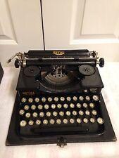 Vintage Royal Portable Typewriter Model P 90843 Glass Keys With Case