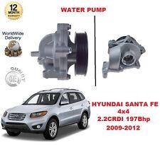 FOR HYUNDAI SANTA FE 4x4 MK2 2.2 CRDI 2009-2012 197Bhp WATER PUMP