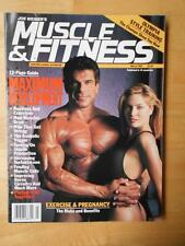 MUSCLE & FITNESS bodybuilding magzine/LOU FERRIGNO 3-93