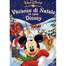 Dvd VACANZE DI NATALE IN CASA DISNEY - (2003) *** Walt Disney  *** ......NUOVO