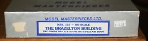 Model Masterpiece HO Scale Brazelton Building. Kit #137