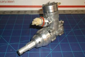 GOOD COND -MODIFIED- (LEE CUSTOM) -K & B-  7.5 R/C Nitro INBOARD MARINE Engine
