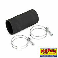 1936 1937 1938 DODGE NEW FUEL TANK FILLER PIPE RUBBER HOSE AND CLAMPS DELUXE