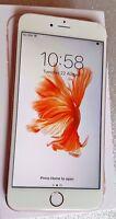 Apple iPhone 6s Plus - 16GB 4G LTE Rose Gold Unlocked Smartphone MKU52B/A