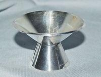 kleiner Kerzenhalter Leuchter 1-flammig, mid Century, Silber 830, Schweden 1956
