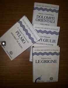 Gammabooks LIBRI GUIDA MONTI D'ITALIA CLUB ALPINO TOURING ALPINISMO CAI TCI