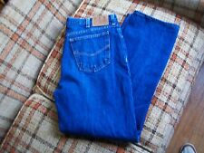 Ely Cattlemen Mens Size 38x32 (Actual 36x32.5) Relaxed Fit Straight Leg Jeans