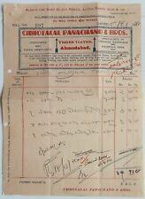 AOP India 1940 billhead STATIONERS AND PAPER MERCHANTS Ahmedabad