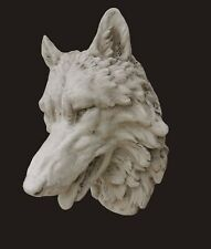 Large wolf head - Wall mounted