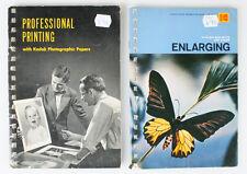 KODAK PRINTING AND ENLARGING BOOKS SET OF 2