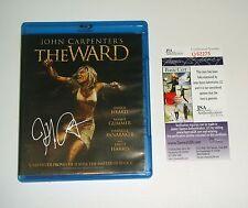 Director John Carpenter Signed The Ward Blu Ray DVD JSA CERT Proof FREE SHIP