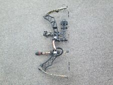 "Elite Impulse 31 Right Handed 28"" 50-60 Lb Bow Black Riser Max-1 Limbs"
