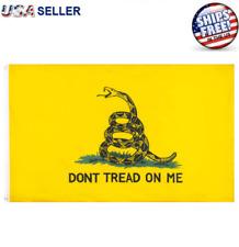 Don't Tread on Me Flag 3x5FT Banner Gadsden Tea Party Patriot Conservative USA