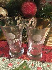 Pilsner Urquell small beer glasses