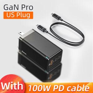 Baseus GaN 65W USB C Quick Charge 4.0 3.0 QC4.0  PD3.0 PD USB Type C Fast Charge