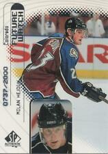 1998 -99  SP AUTHENTIC - MILAN HEJDUK ROOKIE CARD 0737/2000