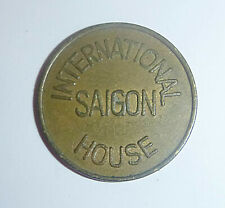 US MILITARY TOKEN - International House - US EMBASSY - SAIGON, Vietnam War, 5388