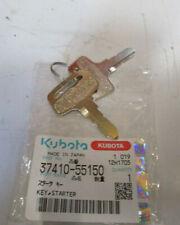 More details for kubota st30 ignition keys & cabin door keys (3741055150 & w25m781183)