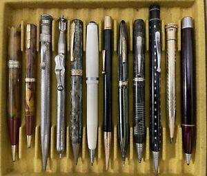 Vintage Pencils Waterman Sheaffer Esterbrook Wahl Eversharp HC Hook etc...