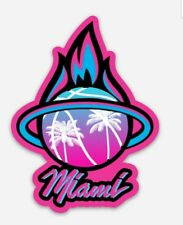 Miami Heat City Logo MAGNET - NBA Miami Vice Premium Vinyl Magnet
