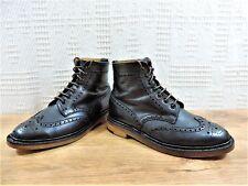 Alfred Sargent Boots UK 6.5 US 7.5  EU 40.5 New soles & heels Good for Church