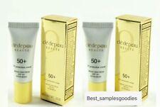 2 X Cle De Peau Uv Protection Cream Spf50+ Travel Size 8 ml / Total 16 ml Nib