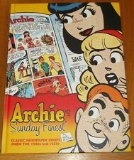 Archie's Sunday Finest Classic Newspaper Strips 1940s 1950s (HB)< 9781613771525