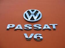 01 02 03 04 05 VW PASSAT WAGON V6 REAR LID EMBLEM LOGO BADGE SIGN SYMBOL SET #4