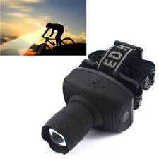 Zoomable LED Headlight Headlamp Flashlight Torch For Camping Hunting Fishing