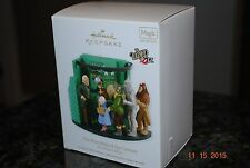 2012 Hallmark WOZ Man Behind the Curtain The Wizard of Oz Magic Xmas Ornament