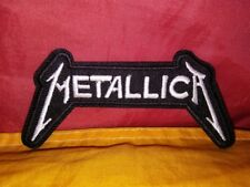 Metallica Embroidered Patch Iron-on Good Luck Magic Charm