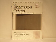 "Avery 1st Impression 03-536 3/4"" Classic White Thermal Binding Covers"