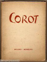 All'insegna del pesce d'oro. COROT 1796/1875 - SCHEIWILLER 1947