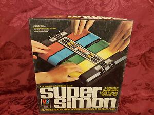 1979 Vintage Super Simon Milton Bradley Electronic Follow Leader Game NEW OPENED