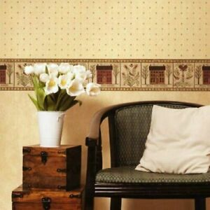 Fine Decor, Heart of the Country, Wallpaper Border - 174 (17.5cm wide x 5m long)