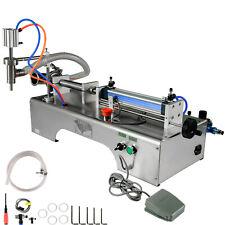 Pneumatic Liquid Filling Machine 50-500ml Semi-automatic Single Head