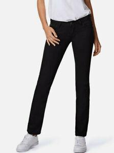 "Mavi-Damen-Straight-Jeans-Hose ""Olivia"", schwarz. L30. NEU!!!"