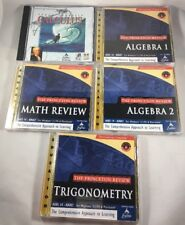 The Learning Company, The Princeton Review Math Library, PC Software, NIB
