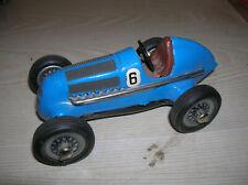 """Schuco Studio Modell 1050 """"Mercedes Silberpfeil Rennwagen"""" Nr. 6 in blau Lack"""