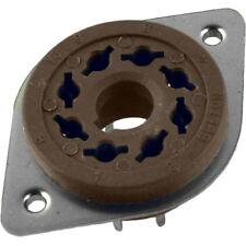 10 PCS - Belton Micalex PC mount vacuum tube socket, 8 pin top or bottom mount