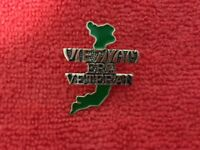 VIETNAM ERA VETERAN MAP OF VIETNAM HAT PIN