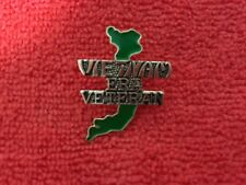Vietnam Era Veteran Map Of Vietnam Hat Pin