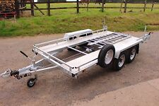 CAR TRANSPORTER BESPOKE/ MADE TO MEASURE/ TWIN AXLE BRAKED TRAILER