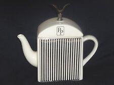 Carlton ware  white Prestige  Rolls Royce car radiator teapot