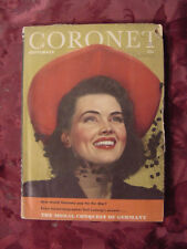 CORONET September 1944 DUSTY ANDERSON TED COLLINS MARGARET O'BRIEN 3 CABALLEROS