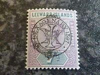 LEEWARD ISLANDS POSTAGE REVENUE STAMP SG14 7D LIGHTLY MOUNTED MINT