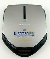 Sony D-E301 Discman Walkman ESP AVLS Mega Bass Portable CD Player